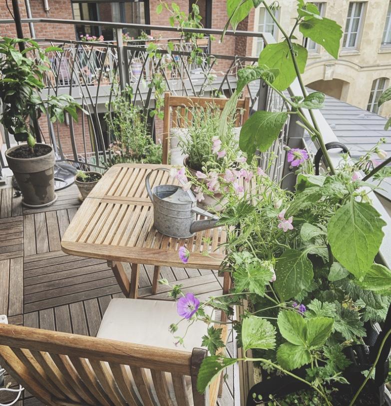 La terrasse bucolique (11è)
