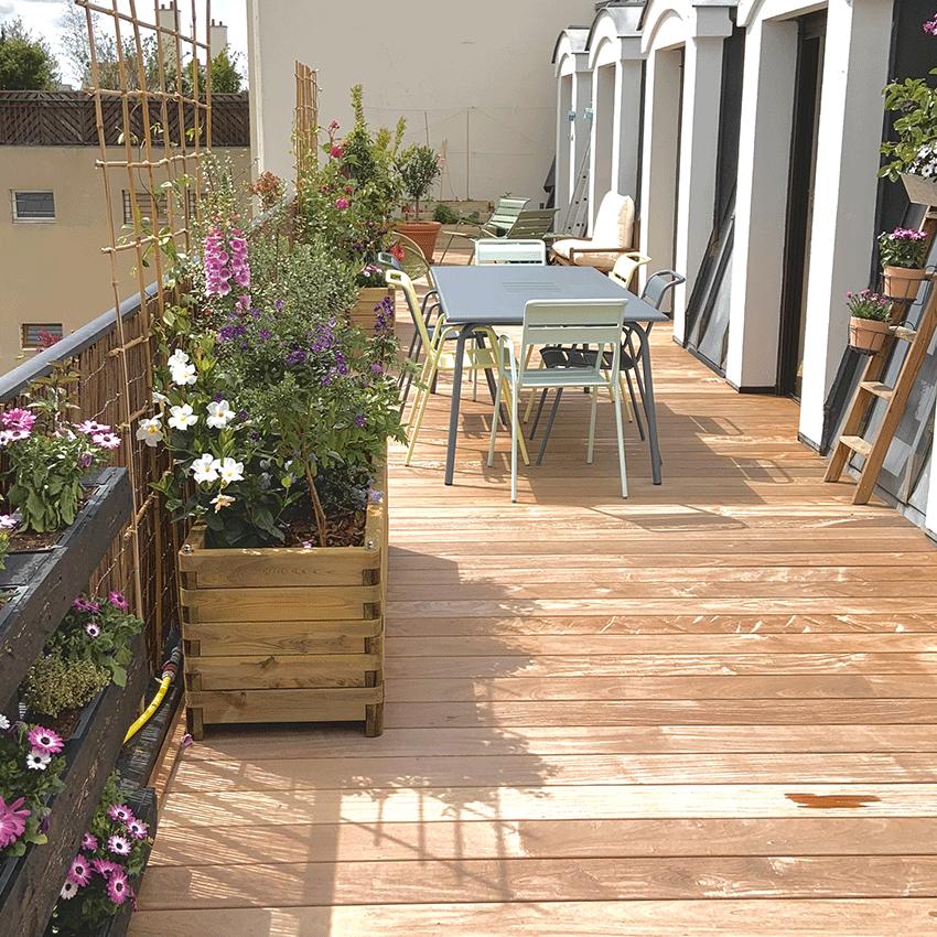 La terrasse-jardin (11ème)